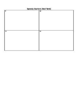 Math Think Tank - 5th Grade Workbook