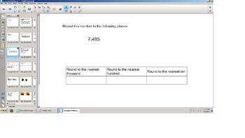 Math, Third Grade, SOL Review, ALL SOLS, TEI practice, Smartboard