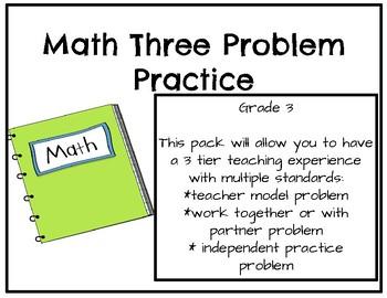 Math Three Problem Practice
