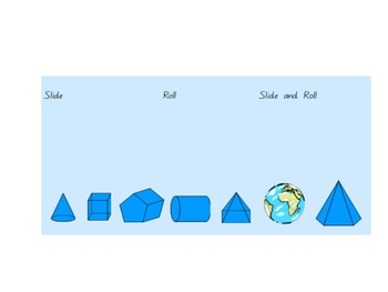 Math SmartBoard - Three dimensional shapes