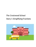 Math Through Literature- Simplifying Fractions Short Story