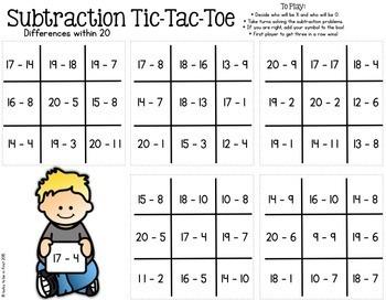 Math Tic Tac Toe