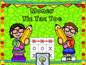 Math Tic Tac Toe Freebie