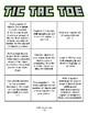 Math Tic-Tac-Toe (KG - Grade 5)
