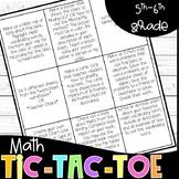 Math Choice Board- Common Core Aligned