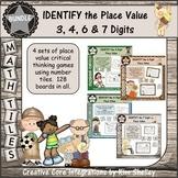 Math Tiles IDENTIFY the Place Value BUNDLE