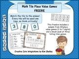 Math Tile Place Value Games FREEBIE