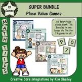 Math Tile Place Value Games - SUPER BUNDLE