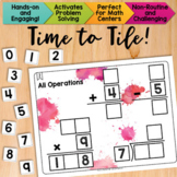 Math Tiles: All Operations {Add, Subtract, Multiply, & Div