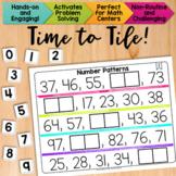 Math Tiles: Analyze Number Patterns  Math Centers
