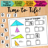 Math Tiles: Area of Triangles  Math Centers