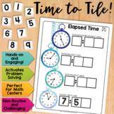 Math Tiles: Elapsed Time  Math Centers