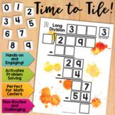 Math Tiles: Long Division  Math Centers