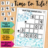 Math Tiles: Multi-Digit Multiplication  Math Centers
