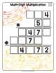 Math Tiles: Multi-Digit Multiplication  Math Centers