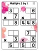 Math Tiles: Multiply 2 by 1  Math Centers