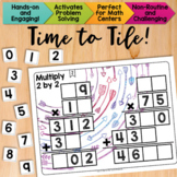 Math Tiles: Multiply 2 by 2  Math Centers
