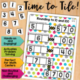 Math Tiles: Rounding to 10 and 100  Math Centers