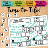 Math Tiles: Single-Digit Multiplication  Math Centers