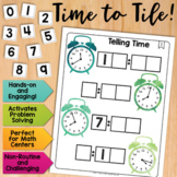 Math Tiles: Telling Time  Math Centers