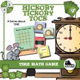 Math Time Game - Self Correcting, Analog and Digital Time (12 hour, 24 hour)