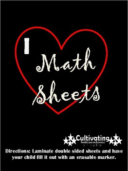 Math Time Table Laminated Boards