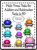 Math Timed Test for Addition and Subtraction