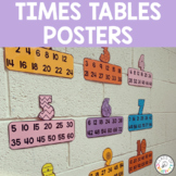 Math Times Tables Posters