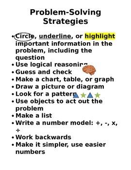 Math Tips Pack