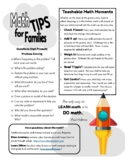 Math Tips for Families
