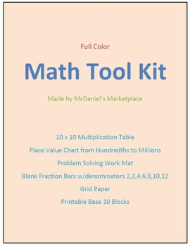 Math Took Kit