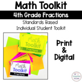 Math Tool Kit Aids Fractions 4th Grade Distance learning Digital & Print Google