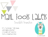 Math Tool Kit Labels- Llamas