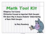 Math Tool Kit by Mary Rosenberg