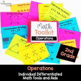 Math Tool Kit for Individual Math Aids for All Operations 2nd Grade