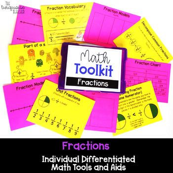 Math Tool Kit for Individual Math Aids for Fractions