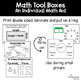 Math Tool Kit for Individual Math Aids for Geometry and Measurement