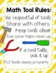 Math Manipulatives: Activities and a Craft for Setting Exp