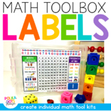 Math Toolbox Labels | Distance Learning
