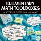 Math Toolbox: Reference Materials for K-6th Grade Math   E