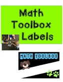 Math Toolboxes - Dog Themed