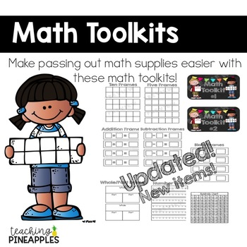 Math Toolkit: A Tool Kit to Organize Math Materials