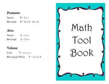 Math Toolkit Booklet