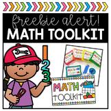 Math Toolkit FREEBIE