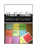 Math Toolkit (Fits in Target Adhesive Pockets)