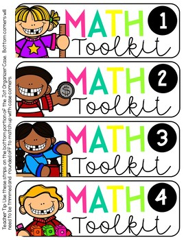 Math Toolkit Labels