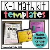 Math Toolkit Math Templates for K-1