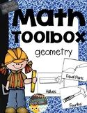 First Grade Math Toolbox {Geometry}