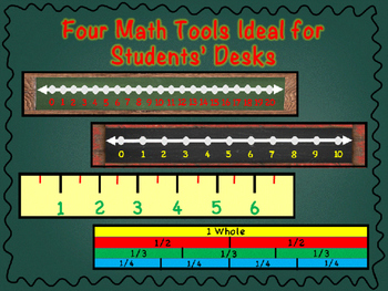 Math Tools (Number Lines, Ruler, etc) **Fit in Target Dollar Spot Long Sleeves**