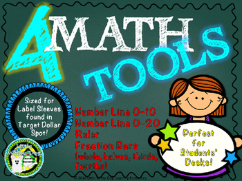 Math Tools (Number Lines, Ruler, etc) **Fit in Target Doll